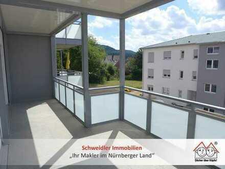 Balkontraum!!! Großzügige 3-Zimmer-Wohnung für NEUBAU-Liebhaber in Schnaittach zur Miete