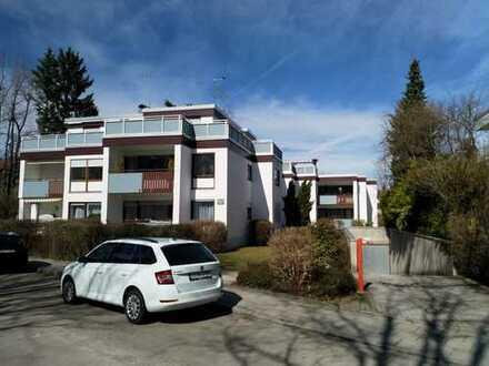 Sehr ruhige, grüne 1-Zi-Wohnung mit Terrasse und Garten in München-Solln