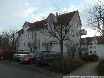 4-Raum-Wohnung mit Balkon und Stellplatz