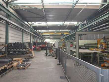 Produktionshallen + Büro ca. 10.500 m² in Kehl - zu verkaufen