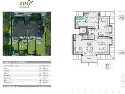 weitläufige 3 Zimmer Wohnung mit Südbalkon ab 16.07.2020 - Neubau Erstbezug