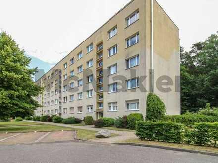 Wohnkomfort für Familien und Naturfreunde: Gut geschnittene 4-Zi.-ETW mit Balkon in Wittstock/Dosse