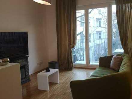Geschmackvolle komplett möblierte 2-Zi. Wohnung in Berlin