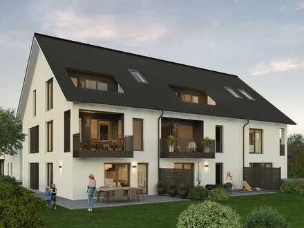 NEUBAU WHG 1 | Moderne 3-Zimmer-Wohnung mit Terrasse und Gartenanteil
