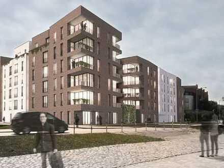 2-Zimmer-Wohnung mit gemütlicher Terrasse mitten in der City - Bauprojekt HanseHof