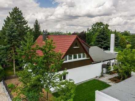 Moderne Doppelhaushälfte mit Sauna, großer Terrasse und Garten in zentraler Lage in Leipzig!
