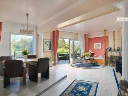 IMMOBERLIN: Traumhafte Lage - Exquisite Wohnung mit Terrasse beim Thielpark