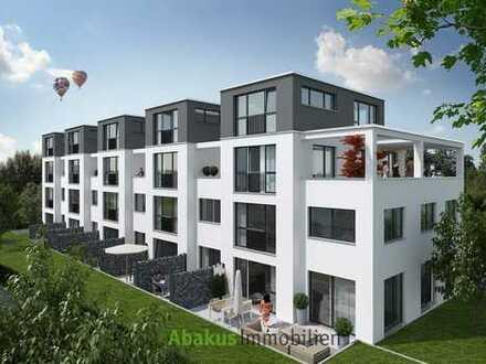 Neubau in Korntal-Münchingen, 2 Dachterrassen, 2 Bäder, 6 Zimmer, Maisonette - Rohbau fertig