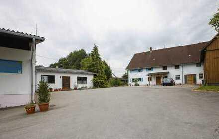 Bio-Hofladen mit Privathaus