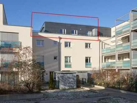 NEU*** 3-Zimmer Penthauswohnung über den Dächern (moderne Einbauküche, TG) im Röthelheimpark