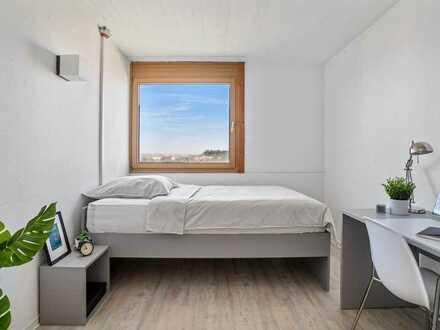 Reserviere schon jetzt dein Zimmer für das Sommersemester