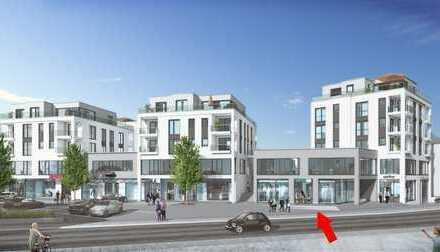 Blickfang am Beginn der Fußgängerzone: Ihre repräsentative Ladenfläche (Café geeignet)