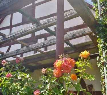 **Historisches Handwerkerschätzchen** - entkerntes Fachwerkhaus in ruhiger Wohnlage -