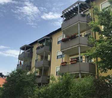 Helle 3-Zimmer-Wohnung mit Balkon und TG-Stellplatz