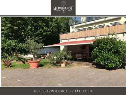 Frankfurt - Eschersheim: Idyllische Gartenwohnung in top Lage