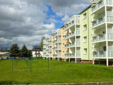 Zuhause wohlfühlen: Wohnung mit Balkon in grüner Lage