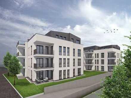 Wunderschönes Penthouse mit großer Dachterrasse und mit Blick über die Leimenkaute. LUNA WHG. Nr. 13