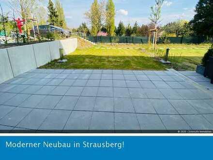 Sonnige Garten-Whg im grünen Strausberg! **ERSTBEZUG**