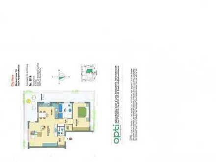 2 1/2 Zimmer-Penthouse-Wohnung mit Balkon und EBK in Heilbron, ruhige Lage, zentral gelegen