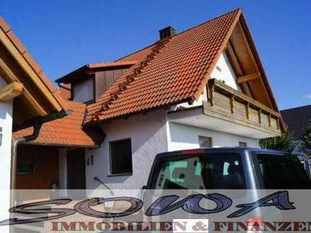 Großzügiges Einfamilienhaus mit großem Garten, 2 Garagen - Ihr Immobilienpartner: SOWA Immobilien...