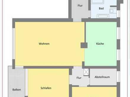 Erstbezug nach Sanierung: exklusive 4-Zimmer-Wohnung mit Balkon in Marktoberdorf ohne Makler
