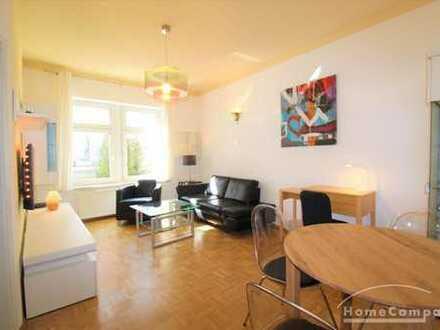 Hübsche helle 2-Zimmer Wohnung im Hinterhaus mit Balkon in der Dresdner Neustadt!
