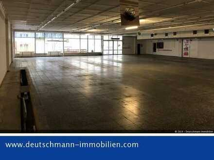 DEUTSCHMANN IMMOBILIEN ***** ivd - Große Halle mit Stellplätzen in Bernau zur Miete, ehem. SB-Markt!