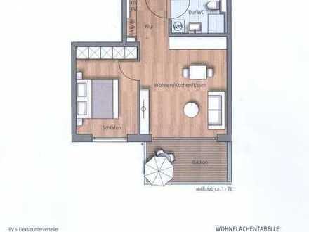 1. OG - Traumhafte 2-Zimmer-Wohnung - Balkon - Aufzug