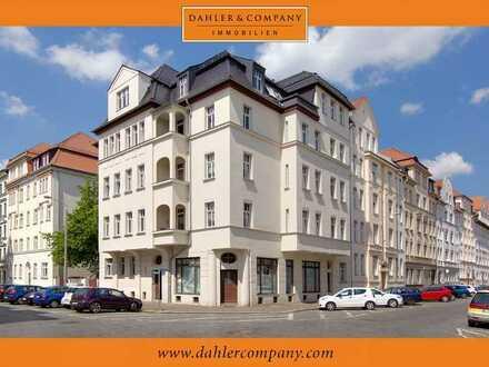 schöne und gepflegte 3-Zimmer Wohnung mit Balkon am Mariannenpark in Leipzig-Schönefeld