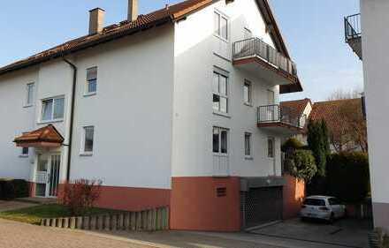 Stilvolle, gepflegte 2-Zimmer-Wohnung mit Balkon und EBK in Bühl