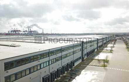 Provisionsfrei: Logistikhalle im Hamburger Hafen!