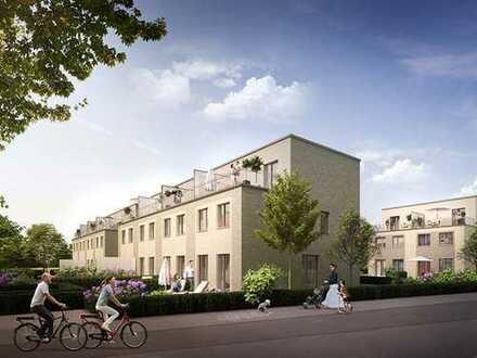 Hochwertiges Reiheneckhaus auf 3 Etagen mit Garten & Dachterrasse in familienfreundlicher Umgebung