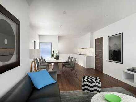 Viel Raum auf 2 Wohnetagen + Balkon + Dachterrasse + Aussicht