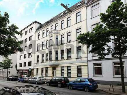Neues Zuhause oder attraktive Kapitalanlage! Lichtdurchflutete 3-Zimmer-Wohnung mit Balkon!