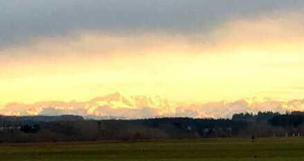 """Alpenpanorama in Alleinlage- Traumhafte Gelegenheit - ca. 2,5 ha """"Land"""" mit großer Hofstelle"""