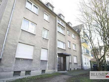Zentral am Stadtgarten in Castrop-Rauxel: 3,5-Zimmer-Wohnung im Erdgeschoss!