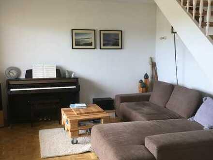 Freundliche 4-Zimmer-Maisonette-Wohnung, voll möbiliert in Neuhausen, vorerst zur Zwischemiete