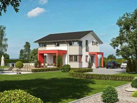 *Baugenehmigung vorhanden* KfW40+ Haus auf Bodenplatte inkl. Carport, *SCHLÜSSELFERTIG*