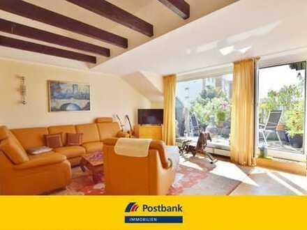 Wunderschöne Sonnen-Dachterrassenwohnung mit Weitblick und Einzelgarage