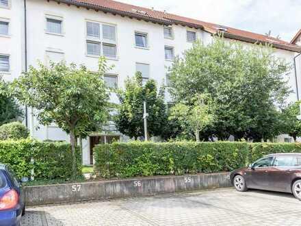 3-Zimmer-Wohnung Nähe Klinikum mit Südbalkon