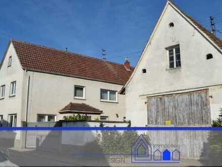 Sparen Sie die Miete und investieren Sie in Ihr Eigenheim!Älteres entwicklungsfähiges Haus-/Hof-Anw.