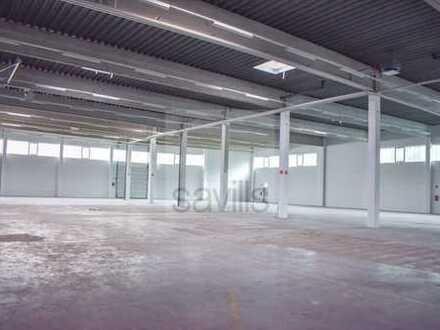 Renovierte Hallen- und Büroflächenkombination zu verkaufen!