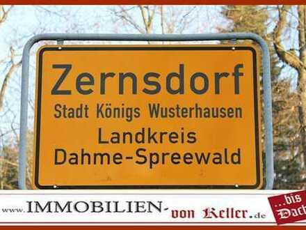 BGS 1135 m², erschlossen, 19 m Straßenfront in bester Ortslage OT Zernsdorf