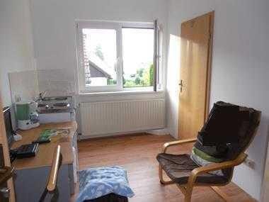 ruhige, gepflegte, möblierte 1-Zimmer-Wohnung mit EBK in Cottbus-Sielow