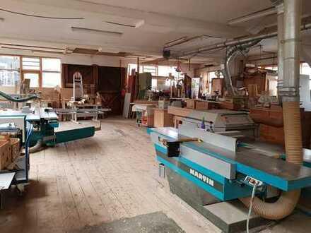 Schreinerwerkstatt zur Mitbenutzung, Lagerplatz frei ab sofort in Gundelfingen!