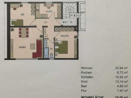 Erstbezug nach Sanierung: schöne 3-Zimmer-Wohnung mit EBK in Schweinfurt