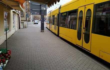 15 m² // Schaufenster // Lauflage // Parkplatz