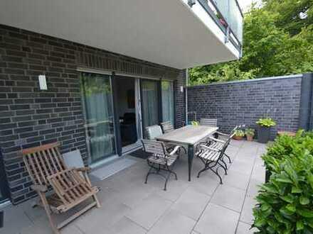 Moderne Erdgeschosswohnung in einem Zweifamilienhaus in zentraler ruhiger Lage von Schermbeck