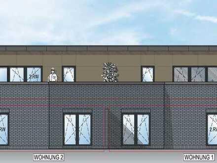 KfW 55: Neubau Penthouse-Wohnung mit großem Balkon in Südlage in Wiesmoor