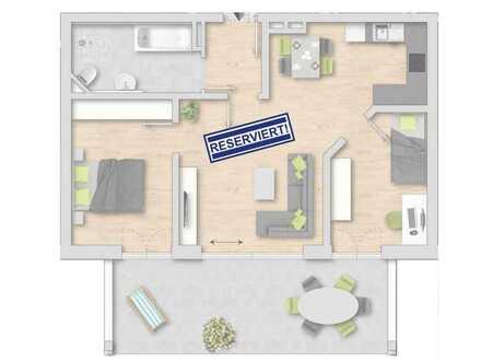 Reserviert! Spitzen 3-Zimmer-EG-Wohnung mit Garten in Karlskron / Nähe Ingolstadt zu verkaufen!